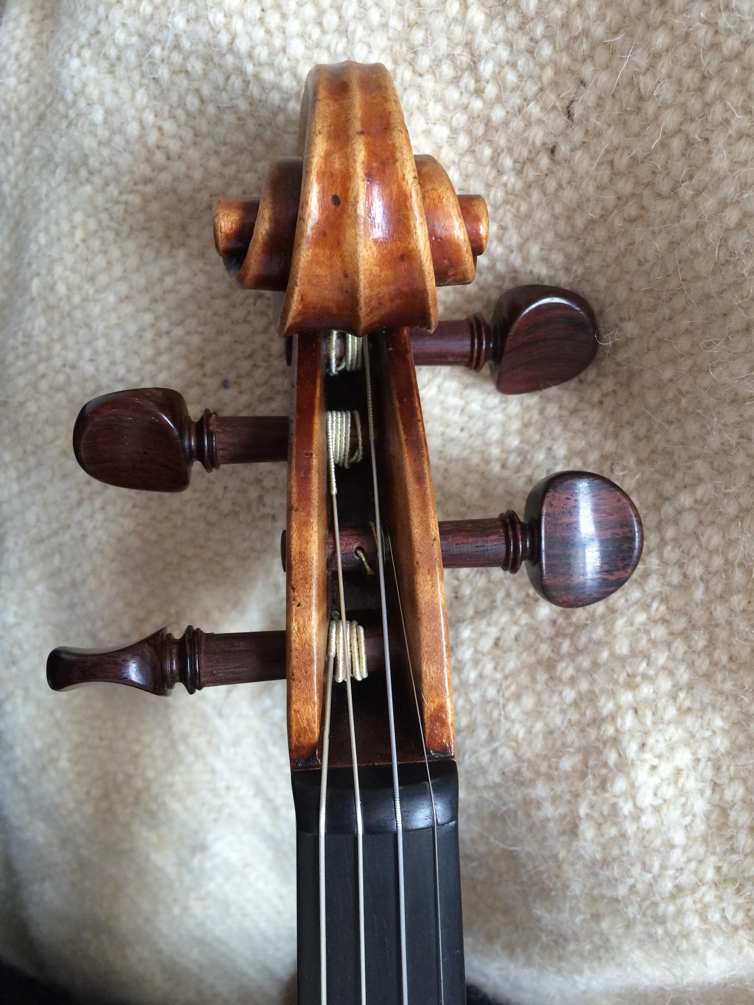 Strings_Music_Horizons_Felix_Krafft_violin_for_sale_scroll_front